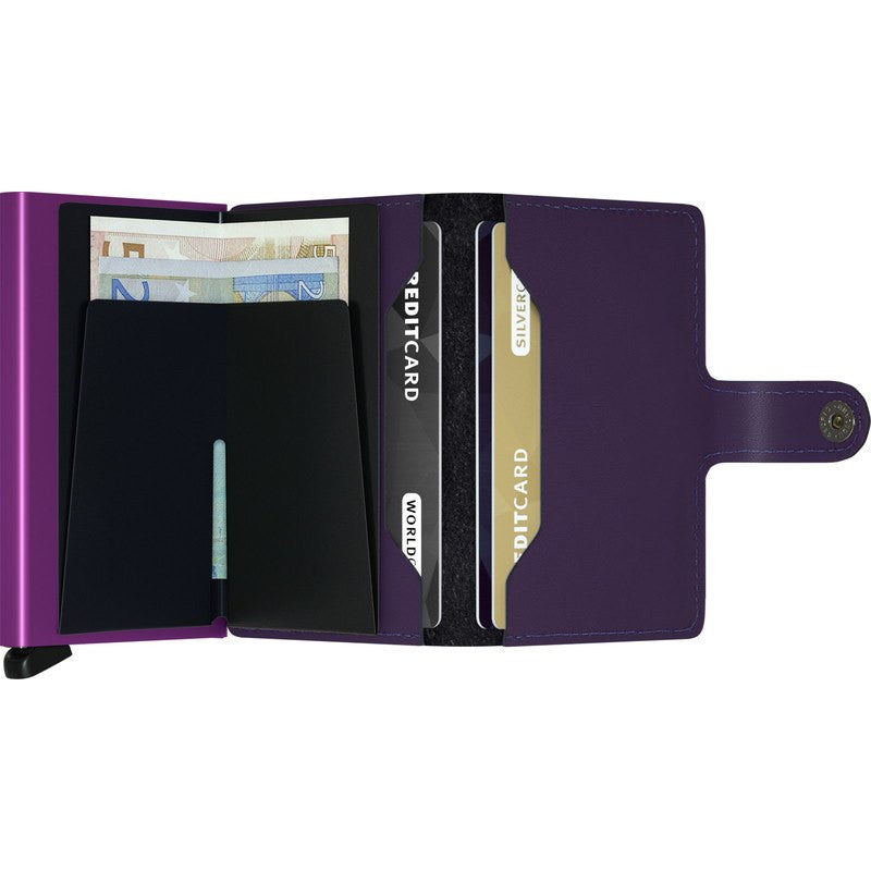 Secrid Mini Wallet | Matte Purple MM-purple