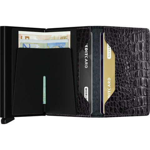 Secrid Slim Wallet Nile | Black SN-Black