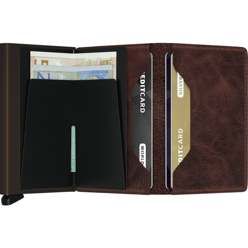 Secrid Slim Wallet | Vintage Chocolate SV-Chocolate