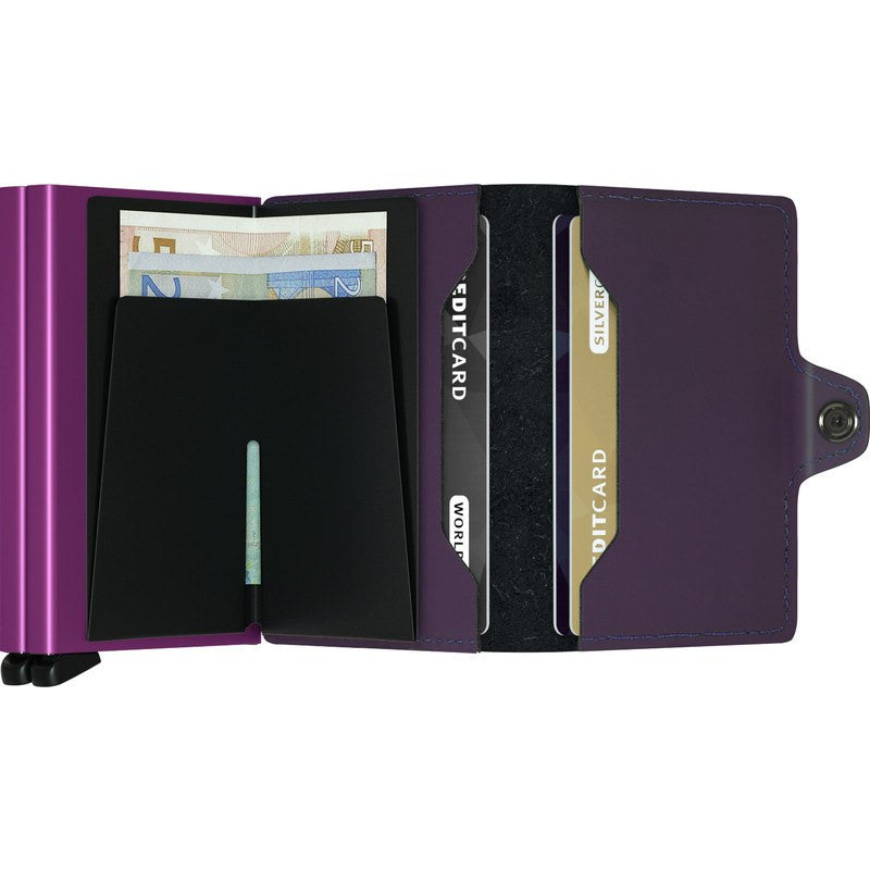 Secrid Twin Wallet | Matte Purple TM-Purple