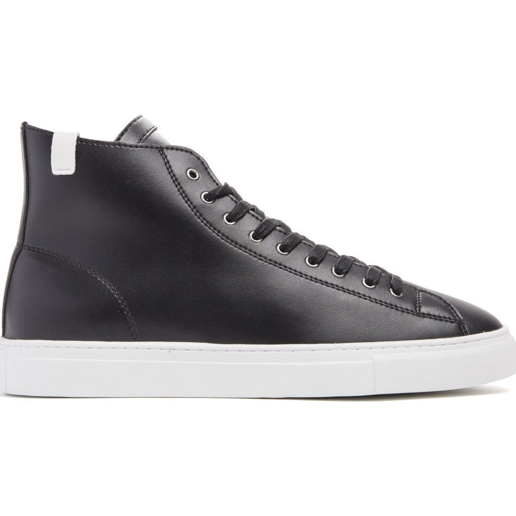 House of Future Original Hi-Top Micro-Leather Shoes | Black Size 45 1045A1006