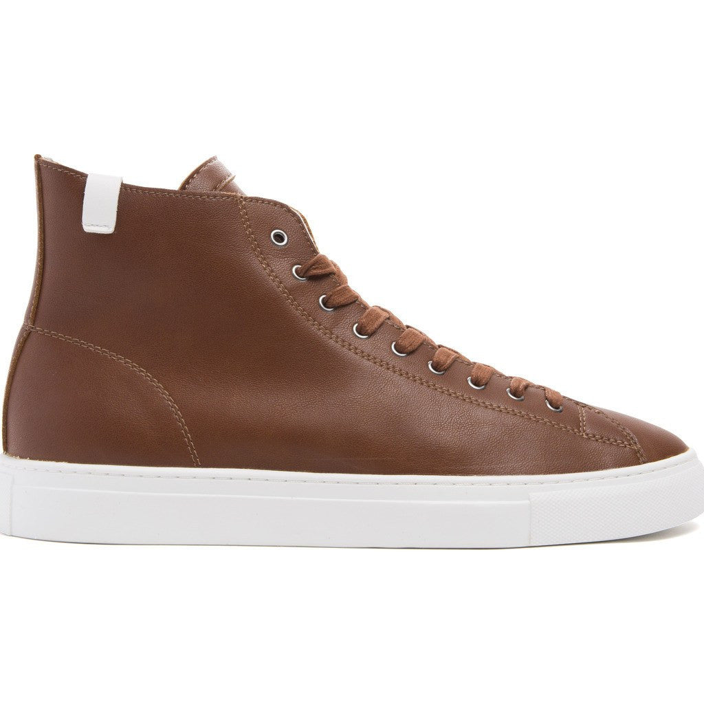 House of Future Original Hi-Top Micro-Leather Shoes | Copper Size 45 1045A1008