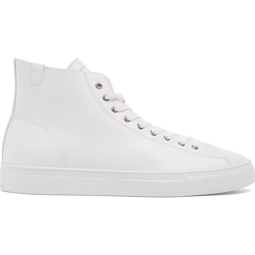 House of Future Original Hi-Top Micro-Leather Shoes | White Size 45 1045A1007