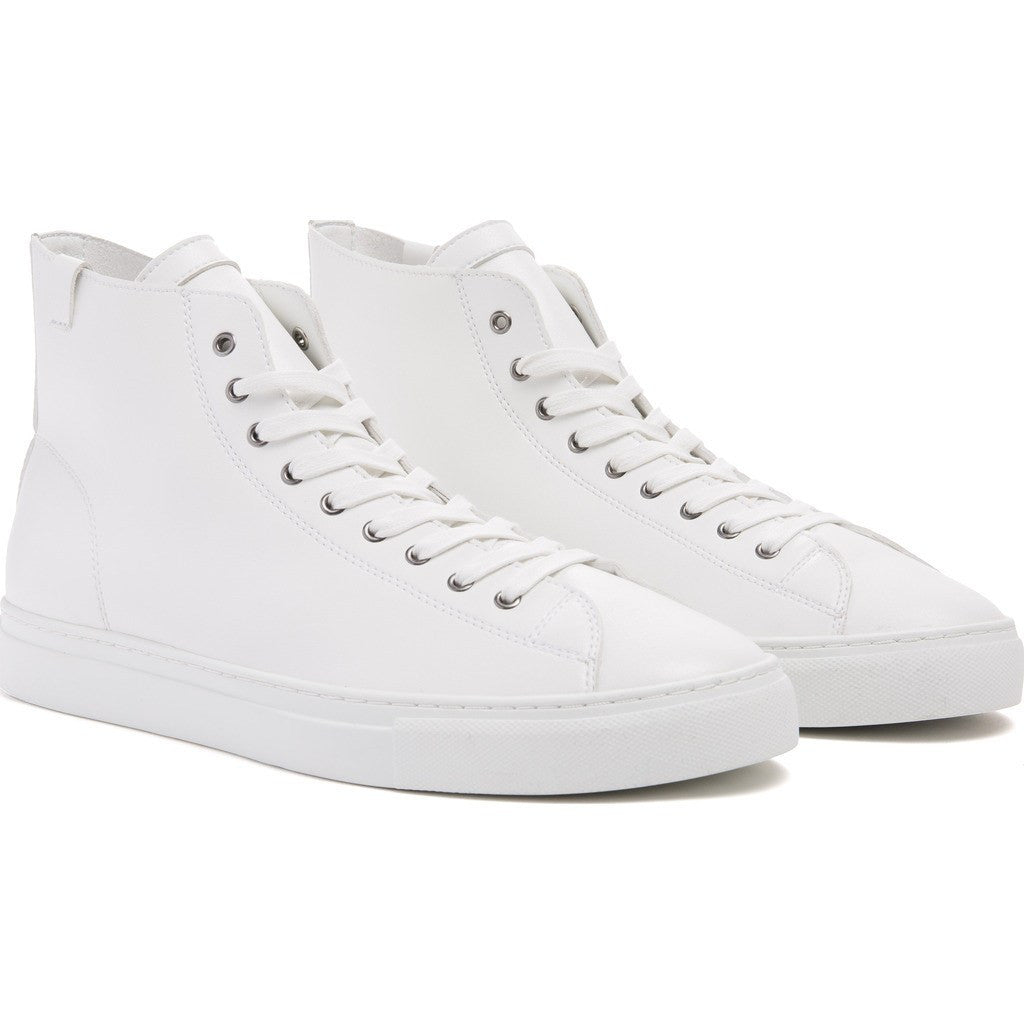 House of Future Original Hi-Top Micro-Leather Shoes | White Size 41 1045A1007