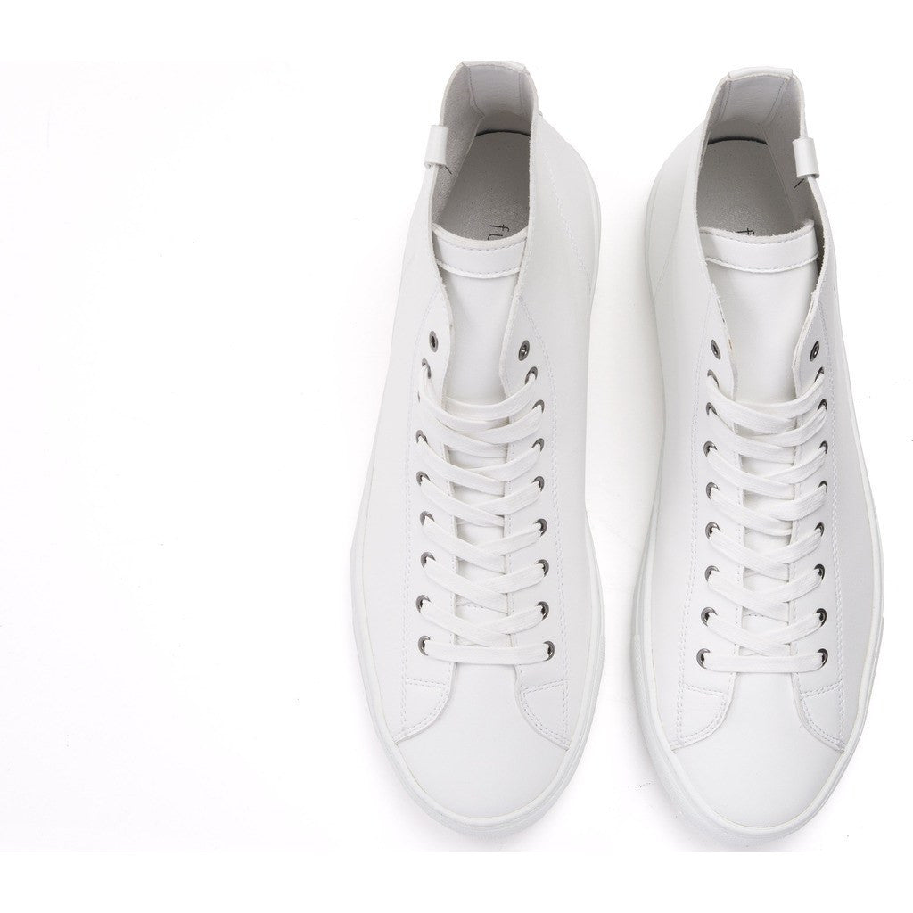 House of Future Original Hi-Top Micro-Leather Shoes | White Size 42 1045A1007