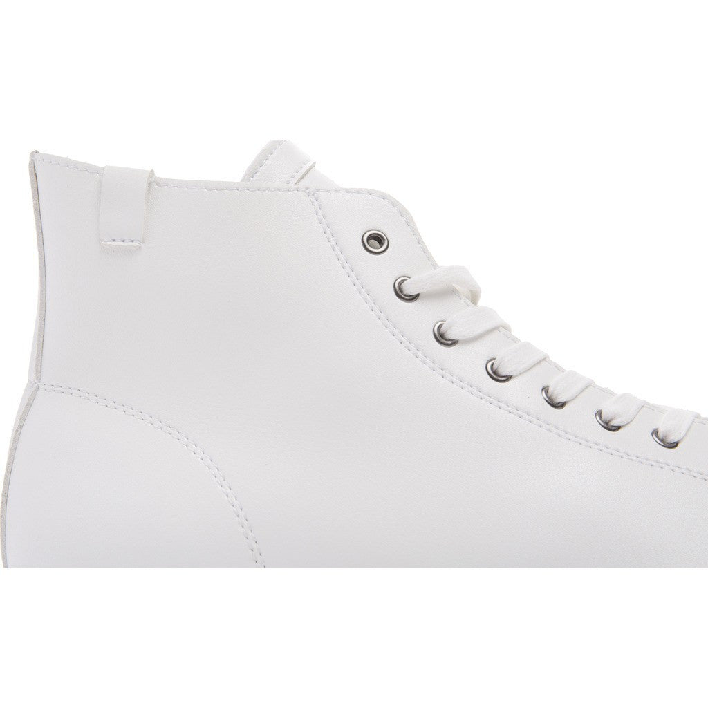 House of Future Original Hi-Top Micro-Leather Shoes | White Size 44 1045A1007