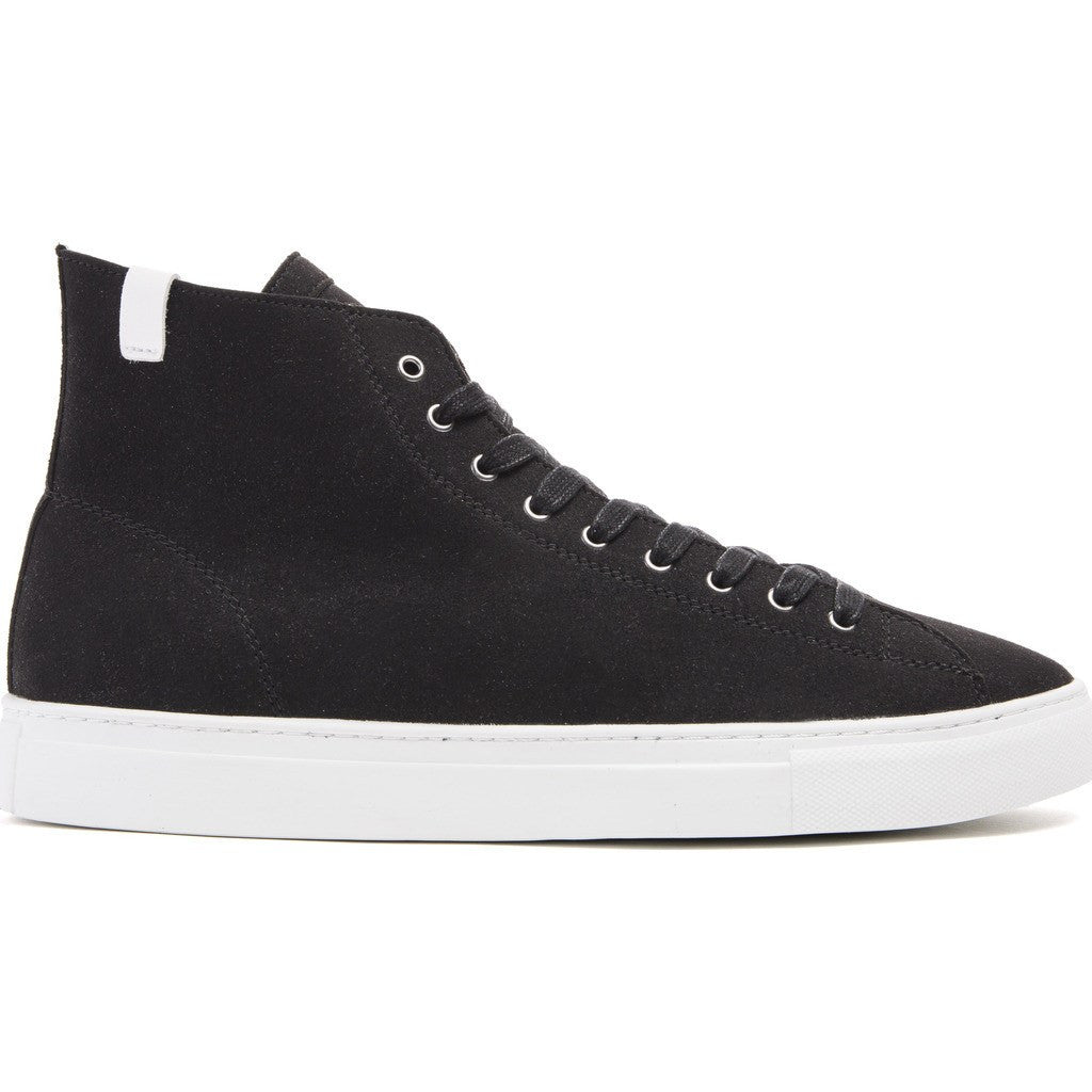 House of Future Original Hi-Top Micro-Suede Shoes | Black Size 45 1015A1001
