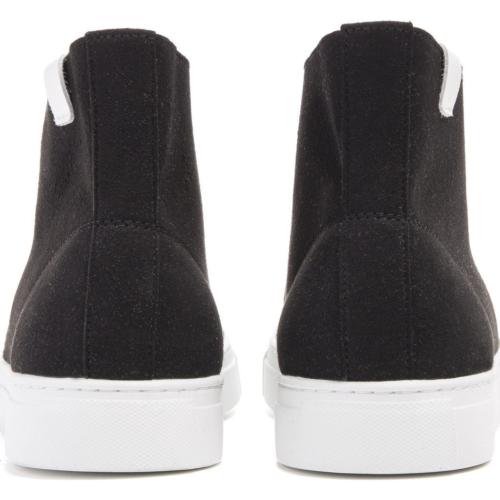 House of Future Original Hi-Top Micro-Suede Shoes | Black Size 43 1015A1001