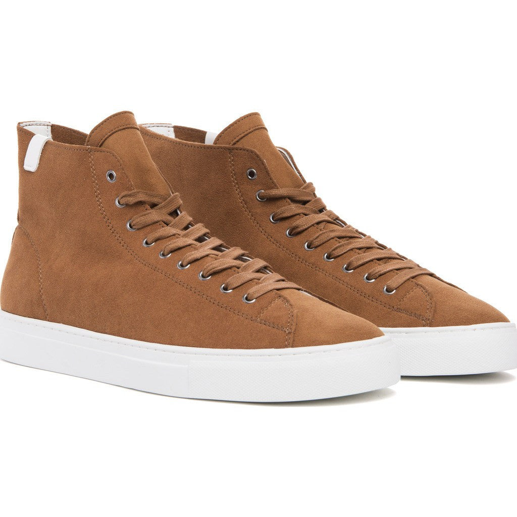 House of Future Original Hi-Top Micro-Suede Shoes | Copper Size 41 1015A1003