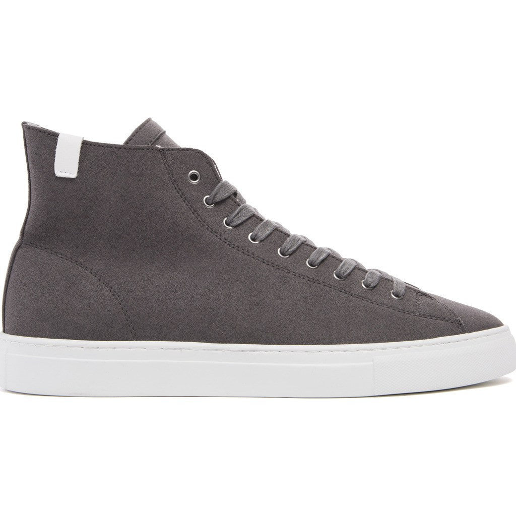 House of Future Original Hi-Top Micro-Suede Shoes | Slate Grey Size 45 1015A1002