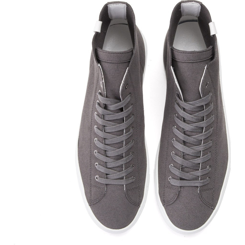 House of Future Original Hi-Top Micro-Suede Shoes | Slate Grey Size 42 1015A1002