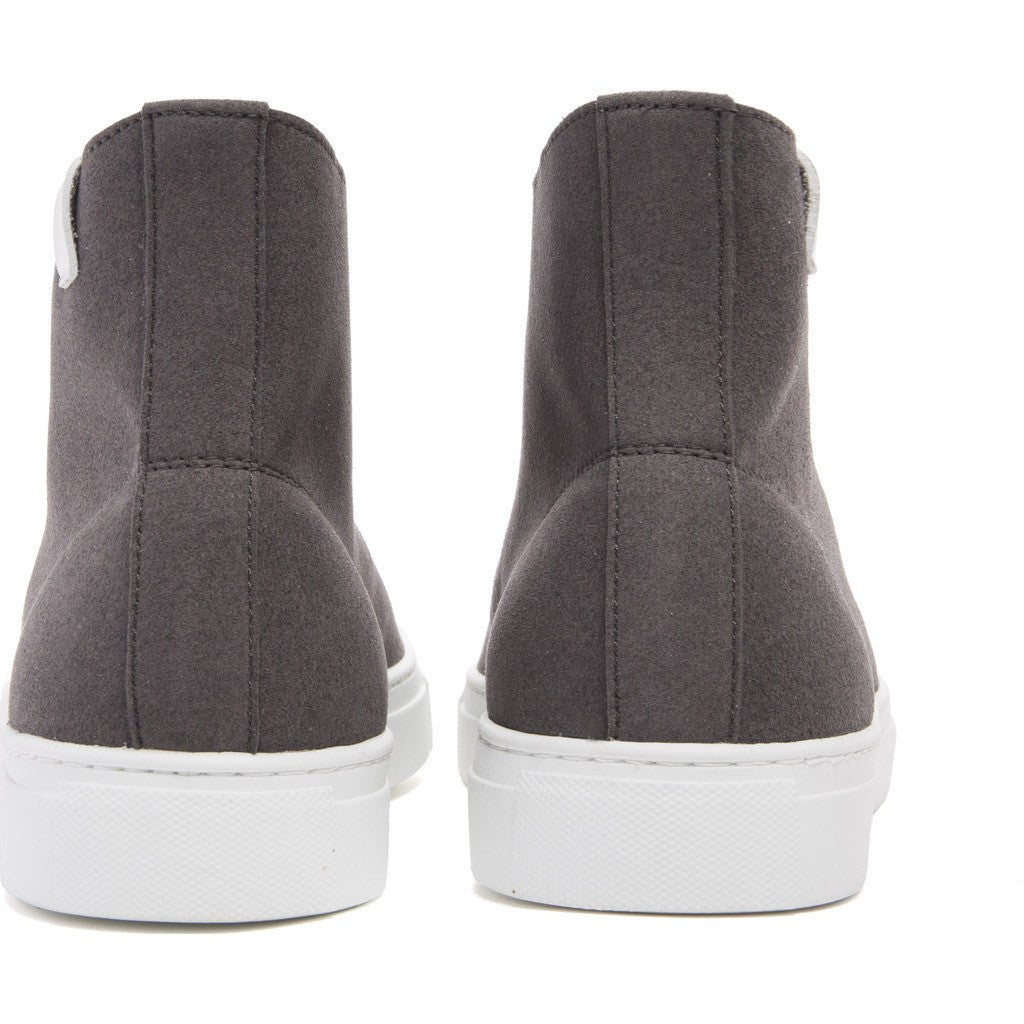 House of Future Original Hi-Top Micro-Suede Shoes | Slate Grey Size 43 1015A1002