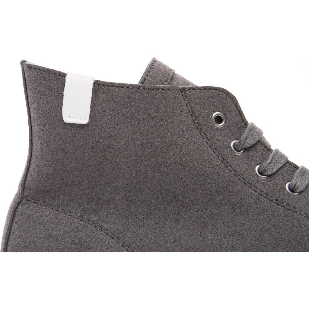 House of Future Original Hi-Top Micro-Suede Shoes | Slate Grey Size 44 1015A1002
