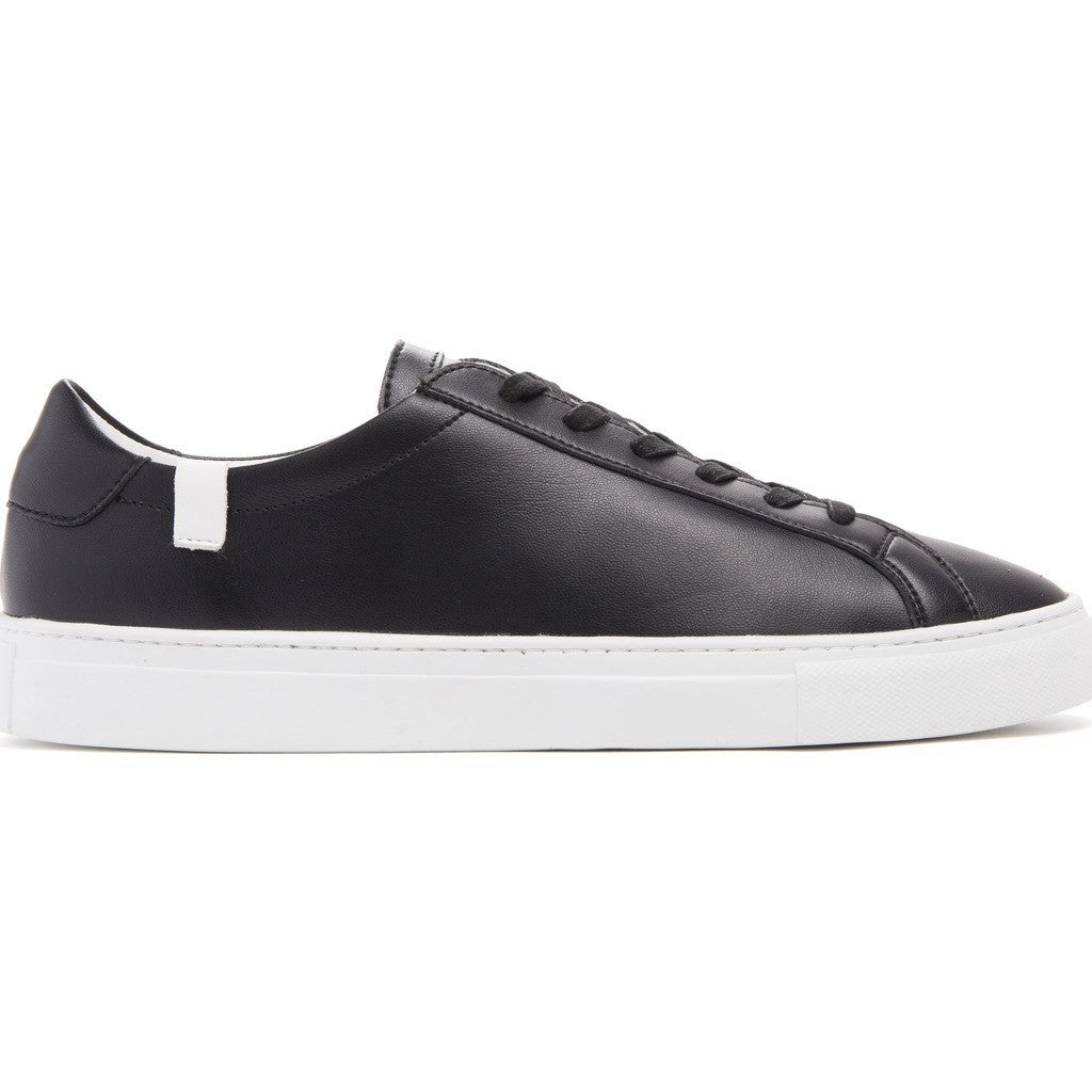 House of Future Original Low-Top Micro-Leather Shoes | Black Size 45 1044A1006