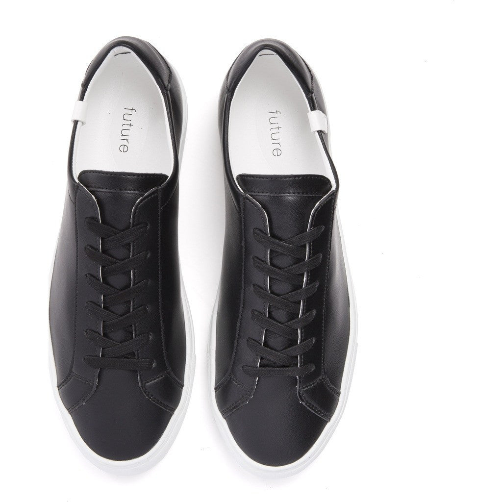 House of Future Original Low-Top Micro-Leather Shoes | Black Size 42 1044A1006