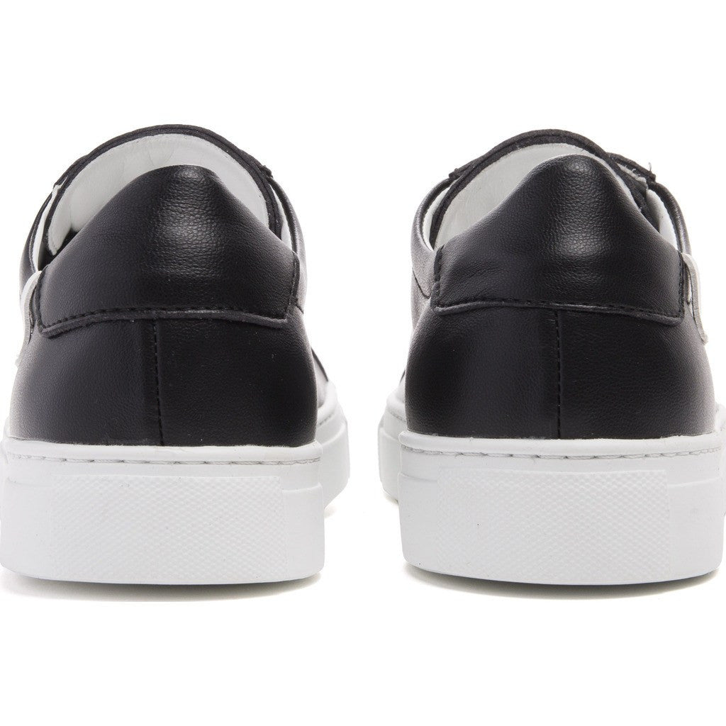 House of Future Original Low-Top Micro-Leather Shoes | Black Size 43 1044A1006