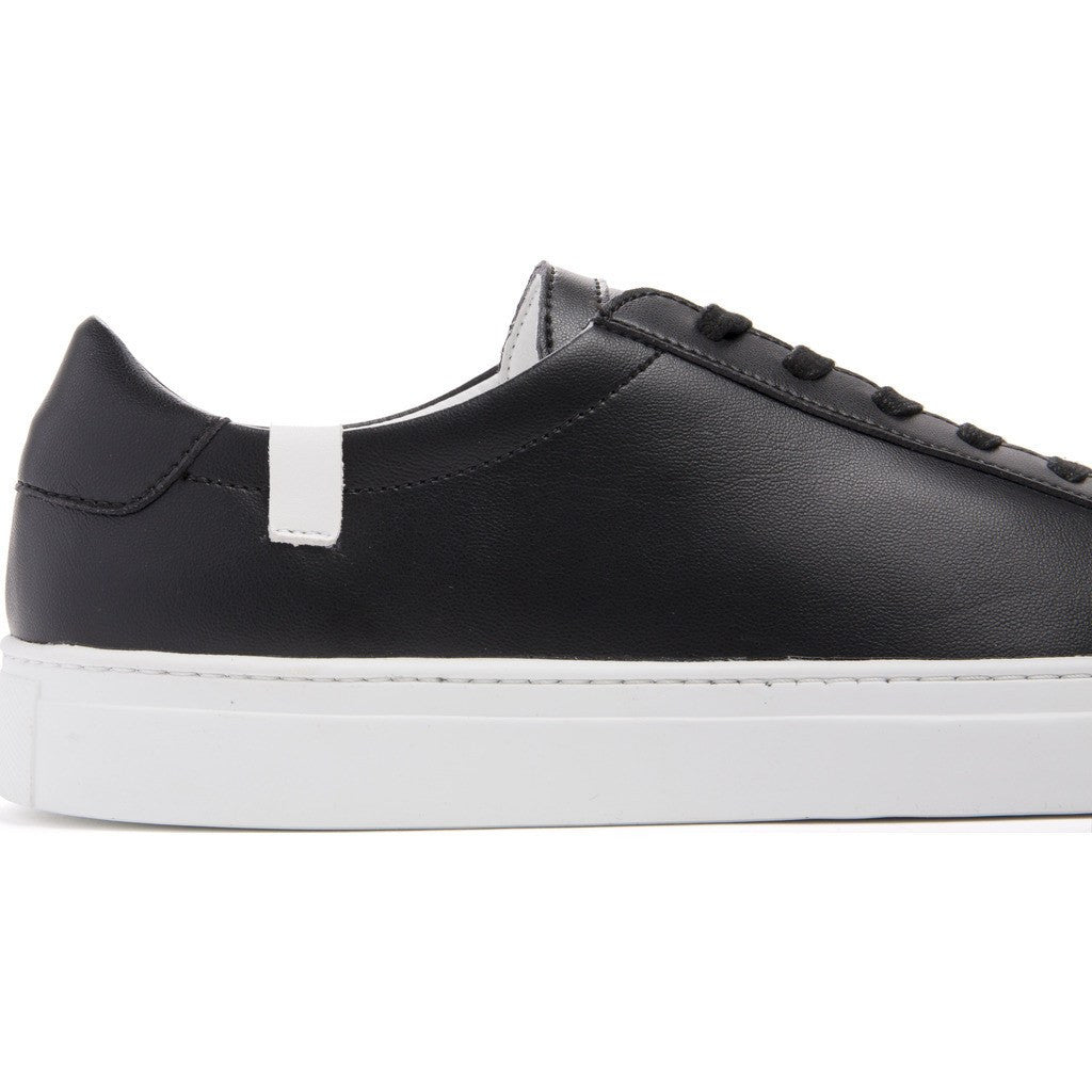 House of Future Original Low-Top Micro-Leather Shoes | Black Size 44 1044A1006