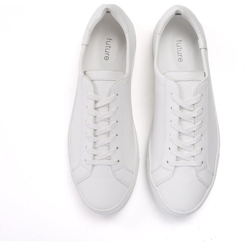 House of Future Original Low-Top Micro-Leather Shoes | White Size 41 1044A1007