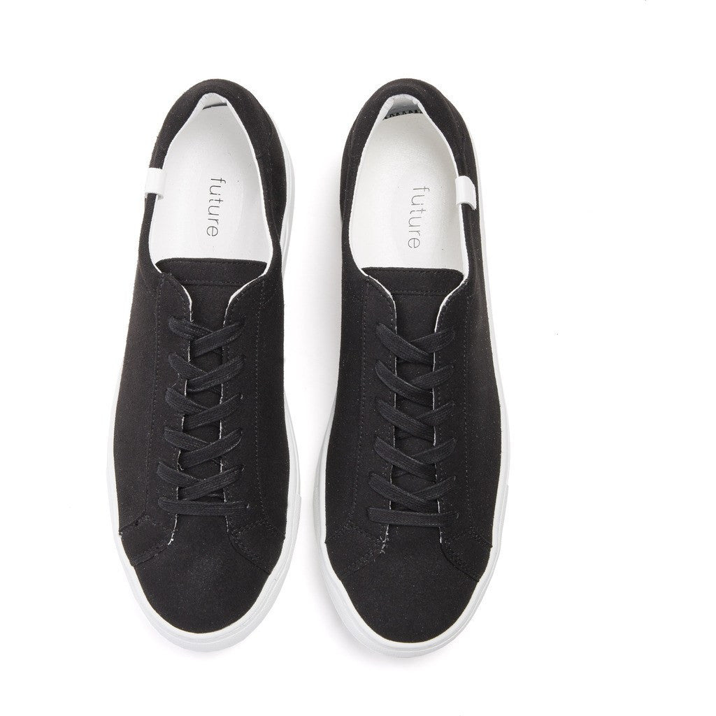 House of Future Original Low-Top Micro-Suede Shoes | Black Size 42 1014A1001