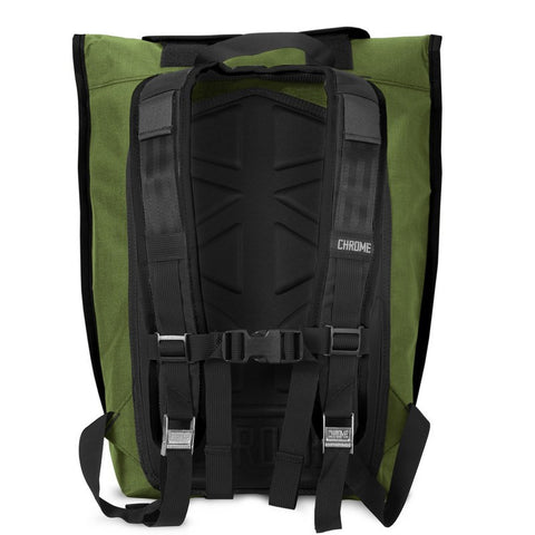 Chrome Orlov Rolltop Backpack | Olive/Black