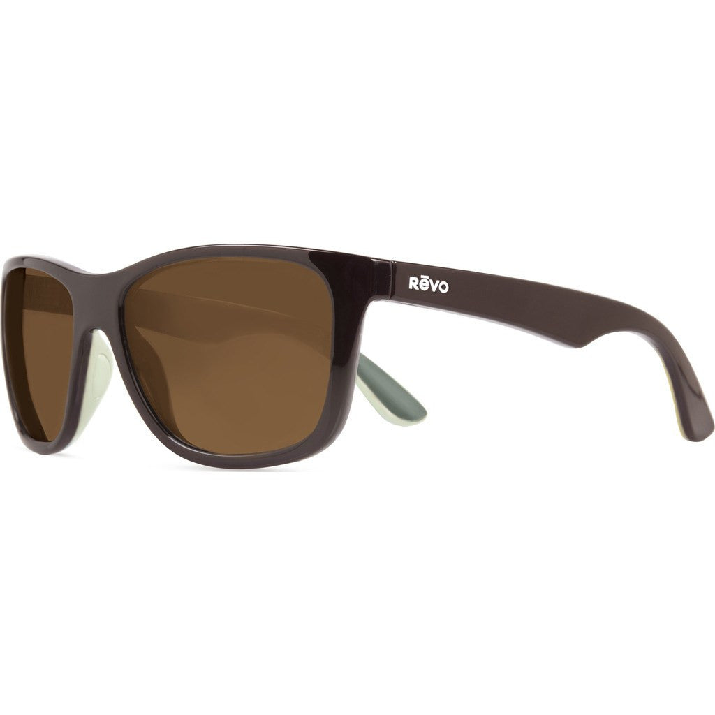 Revo Eyewear Otis Brown/Ivory/Olive Sunglasses | Terra RE 1001 02 BR