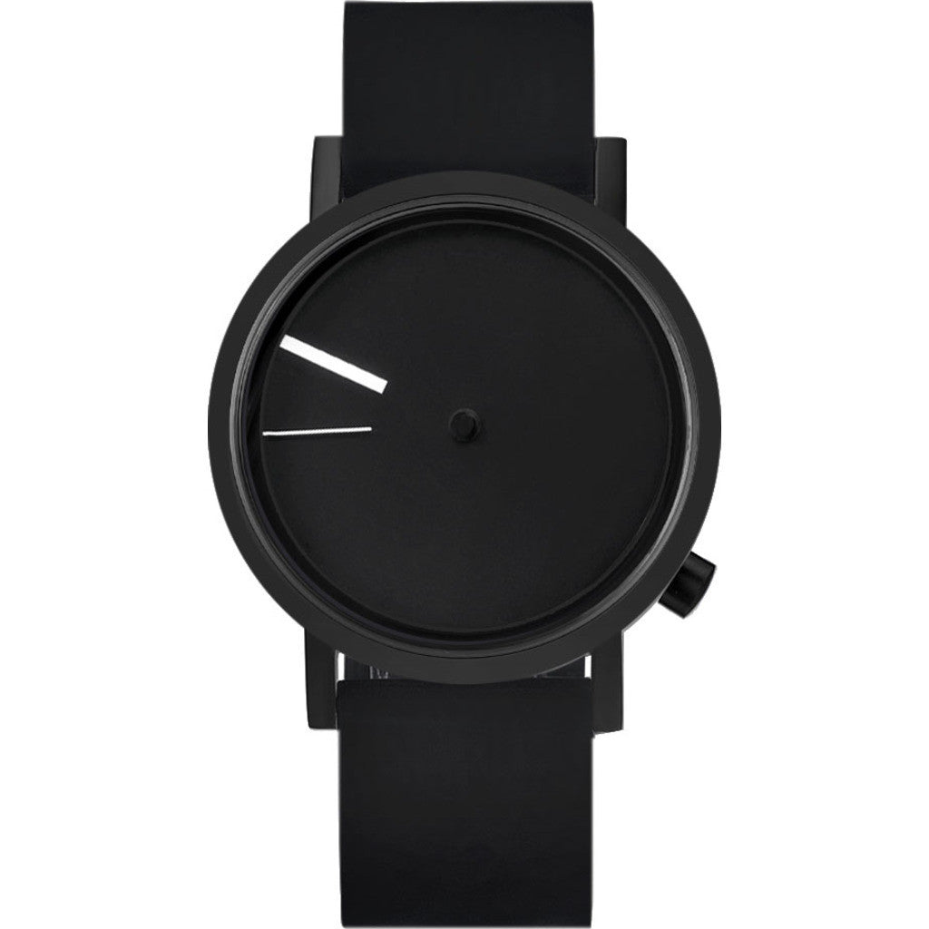 Projects Watches Outside Watch | Black / Black Silicone Band 7295 BS-40