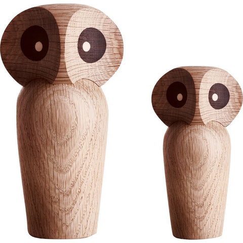 Architectmade Wooden Owl | Natural