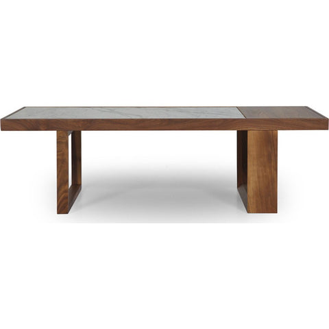 ION Design Astor Coffee Table | Marble & Brown P-19615