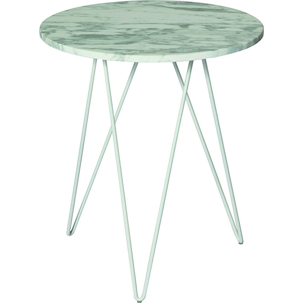 ION Design Solo Accent Table | White Marble P 19626 ...