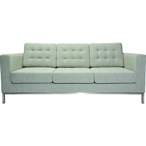 ION Design Drake Sofa | Calico Pearl & Stainless P-20780