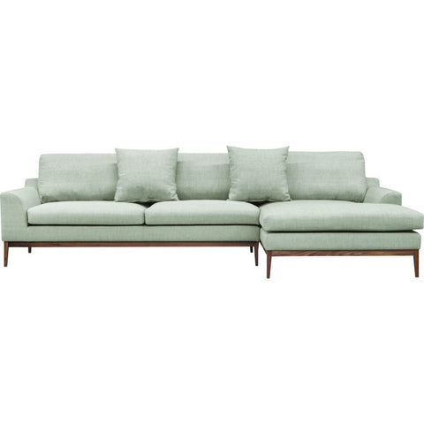 ION Design Holland Sectional RAF | Mole & Walnut P-21571