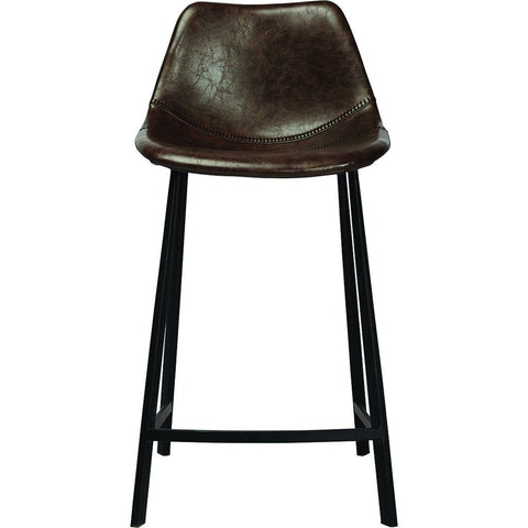ION Design Peralta Bar Stool | Dark Brown P-23255
