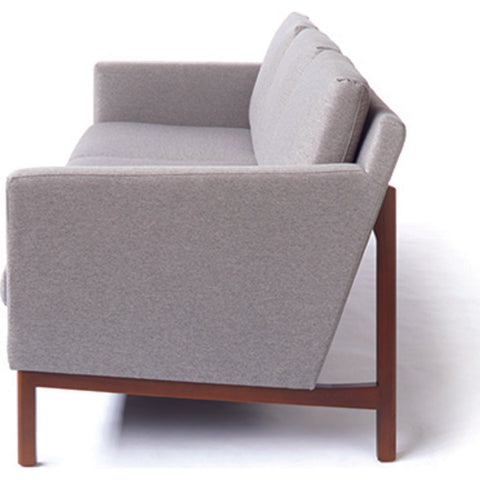 ION Design Strata Sofa | Gray/Walnut P-25815