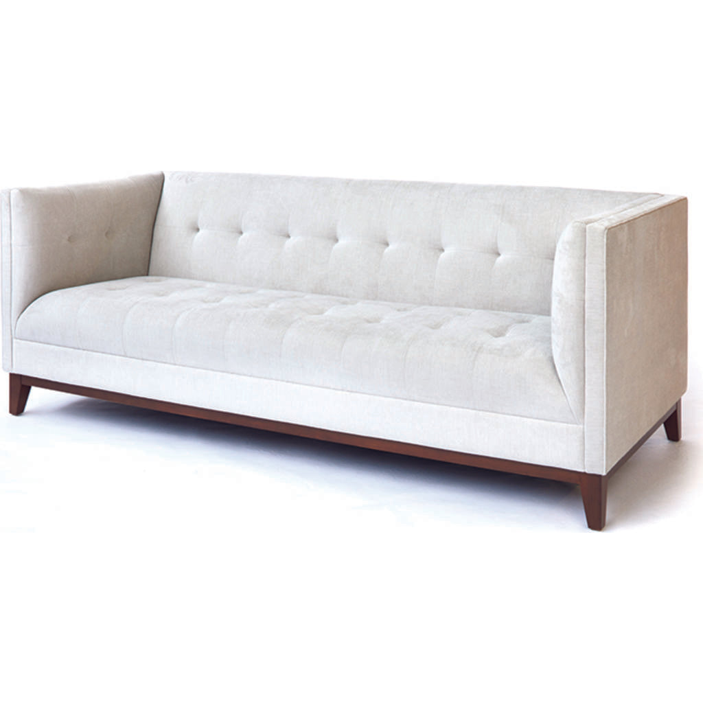 ION Design Earl Sofa | Light Beige/Walnut P-25818