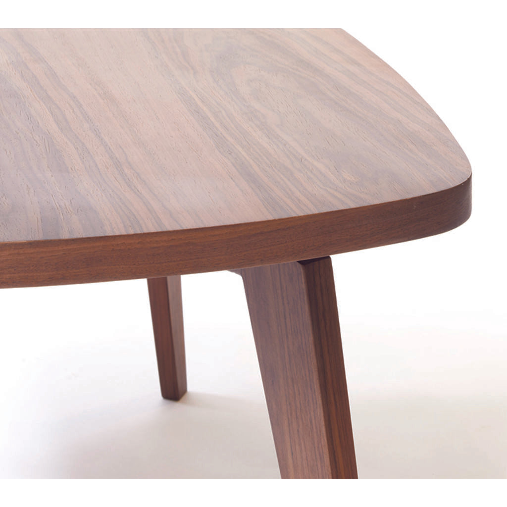 ion design willem coffee table in walnut sportique