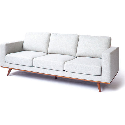 ION Design Magnus Sofa | Gray/Wood P-26182