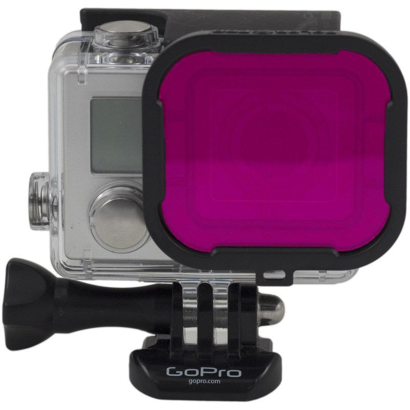 Polar Pro GoPro Magenta Filter | Hero 3+/4 Standard Housing