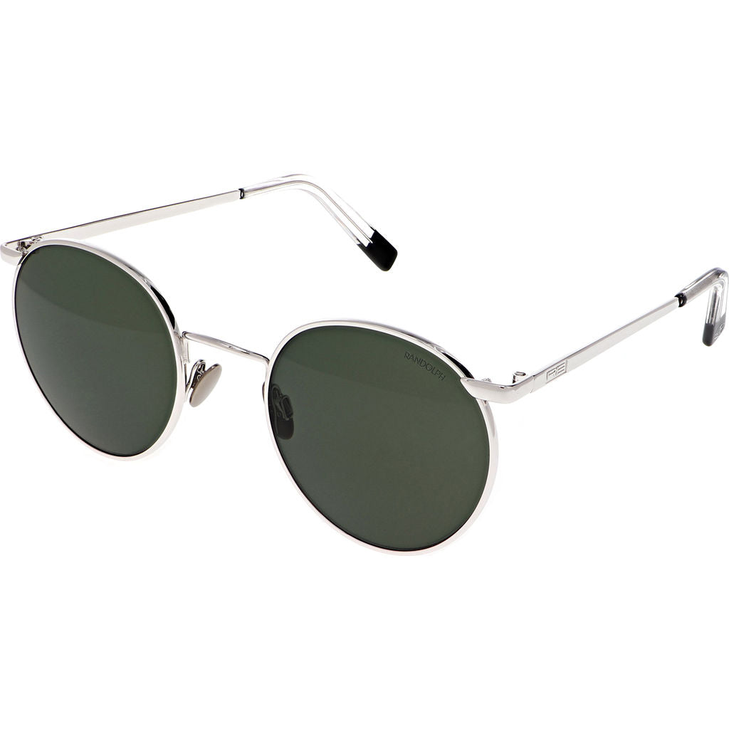 62868f3f3e6 ... Randolph Engineering P3 White Gold Skull Sunglasses