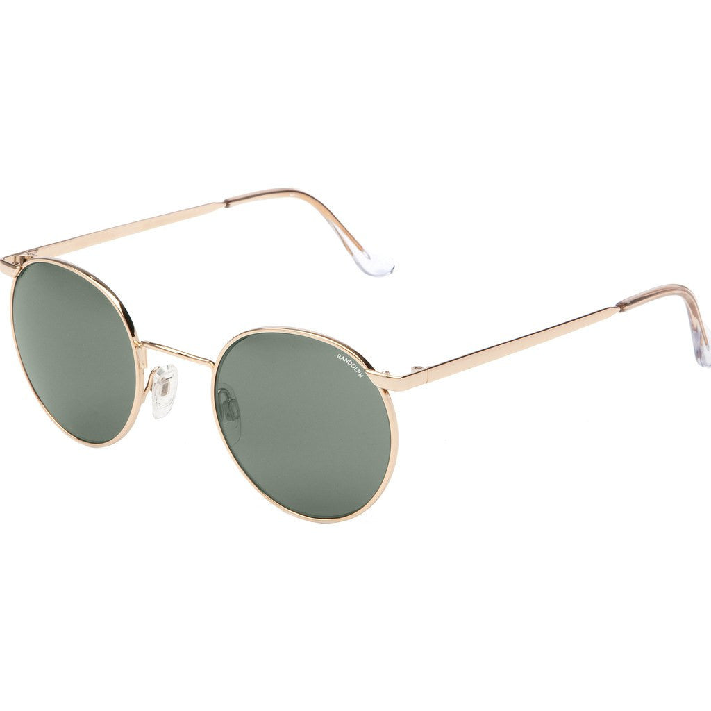 Randolph Engineering P-3 23K Gold Plated Sunglasses | AGX PC Skull 49/23MM P3P1414-PC
