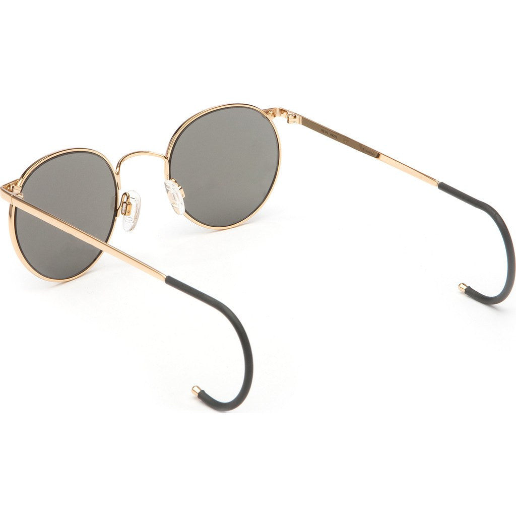 Randolph Engineering P-3 23K Gold Sunglasses | Gray Polarized Cable