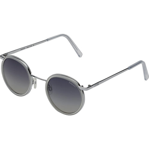 Randolph Engineering Fusion P3 Bright Chrome/Crystal Sunglasses | Gray Gradient Skull P3P3403-I5-Ny