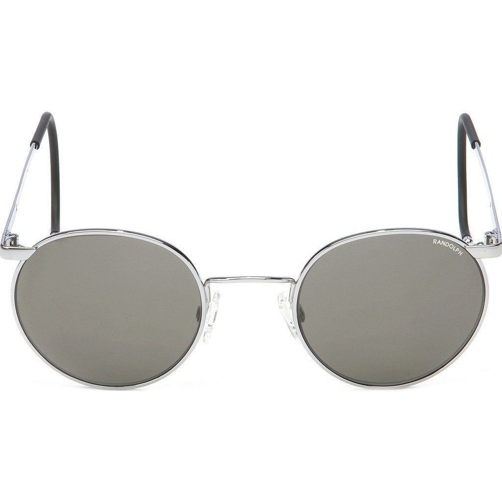Randolph Engineering P-3 Bright Chrome Sunglasses | Gray PC Cable