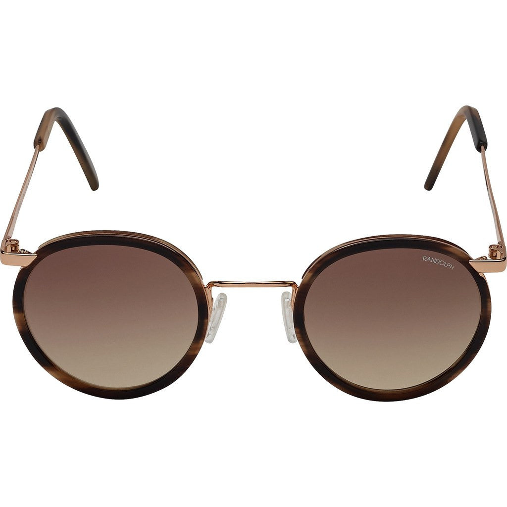545b45ff77 ... Randolph Engineering Fusion P3 23K Rose Gold Brown Horn Sunglasses