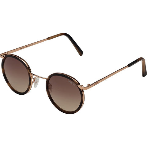 Randolph Engineering Fusion P3 23K Rose Gold/Brown Horn Sunglasses | Tan Gradient Skull P3P5404-I6-Ny