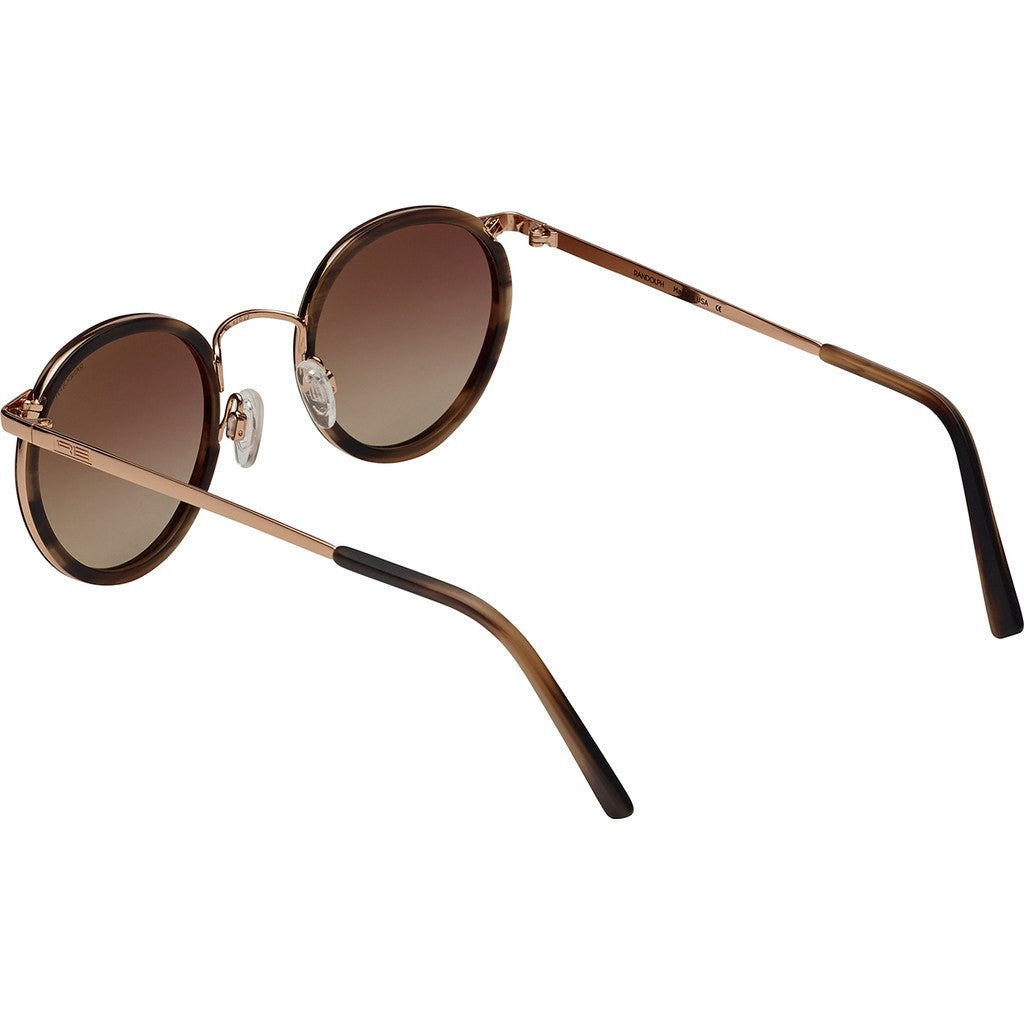 d73d673d08 Randolph Engineering Fusion P3 23K Rose Gold Brown Horn Sunglasses ...