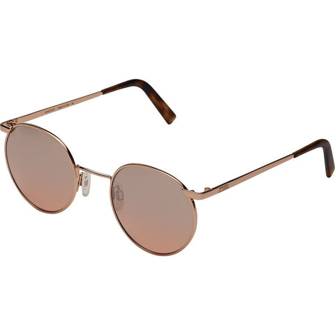 Randolph Engineering P-3 23K Rose Gold Sunglasses | Sahara Metallic Nylon AR Skull 49/23MM P3P5408-NY