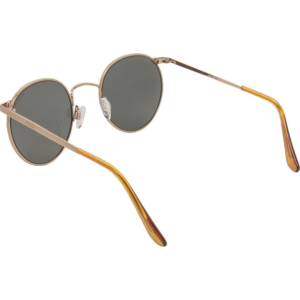 Randolph Engineering P-3 Rose Gold Sunglasses | Gray Skull