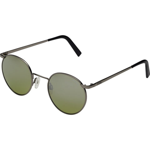 Randolph Engineering P-3 Gun Metal Sunglasses | Jade Metallic Nylon AR Skull 49/23MM P3PR410-NY
