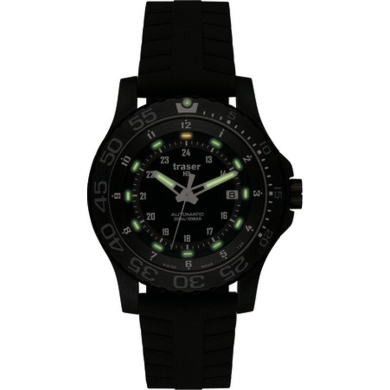 traser H3 P6600 Automatic Pro Watch | Silicone Strap 100173