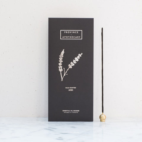 Province Apothecary Incense | Lavender Essential Oil